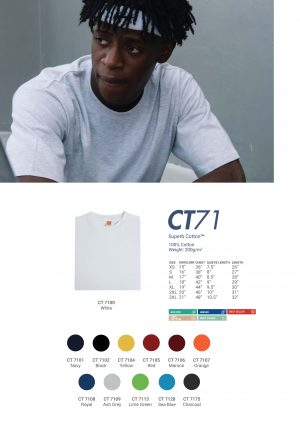 CT 71 COTTON tees